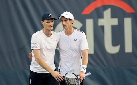 Andy and Jamie Murray fall at quarter-final stage of Citi Open