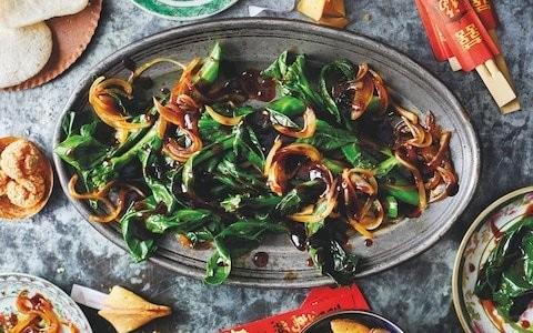 Chinese broccoli in garlic sauce recipe