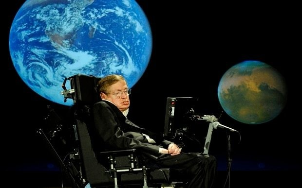 Prof Stephen Hawking: disaster on planet Earth is a near certainty