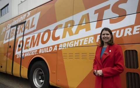 Jo Swinson: from Commons reject to wannabe Prime Minister