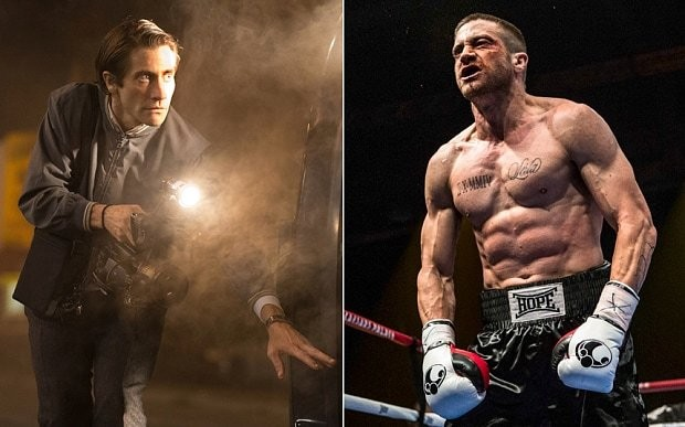 Is that you, Jake? Gyllenhaal beefs up for boxing film