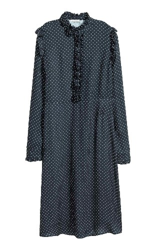 16 pretty long-sleeved dresses for work and play