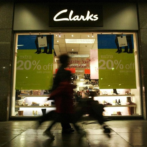 Clarks set to stop making shoes in Britain