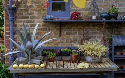 A decorative tabletop can bring glam to your garden – here's how to get it right
