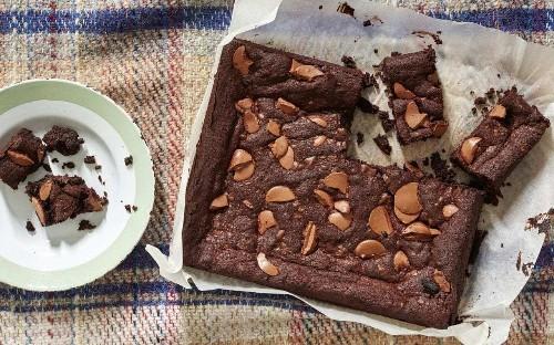 Stephen Harris' triple chocolate brownies