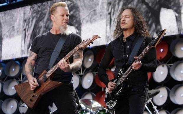 Metallica: five songs to rock Glastonbury