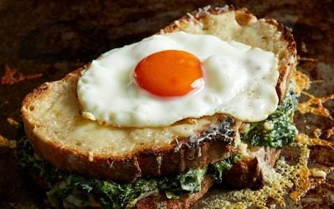 Quick and easy croque madame recipe