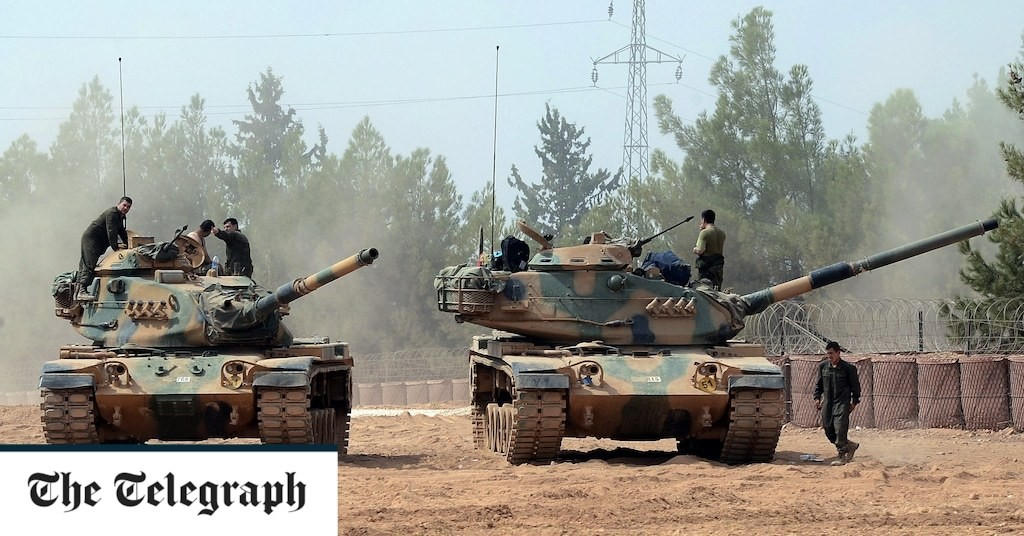 Turkey sends more tanks into Syria as US tells Kurds to withdraw east of Euphrates