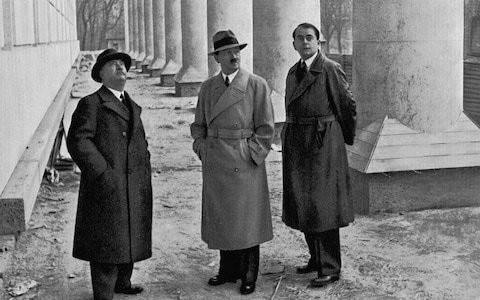 Forgotten Foreign Office document casts doubt on claim architect plotted to assassinate Hitler