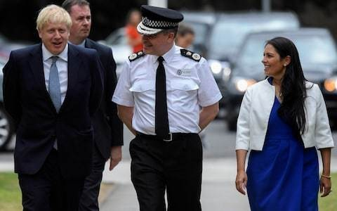 Priti Patel to double maximum jail sentences for assaults on police officers