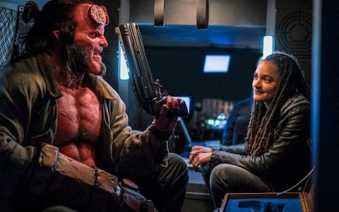 UK box office report, April 12-14: Hellboy freezes over, and Dumbo soars