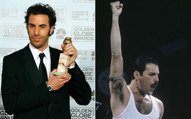 Sacha Baron Cohen definitely not playing Freddie Mercury