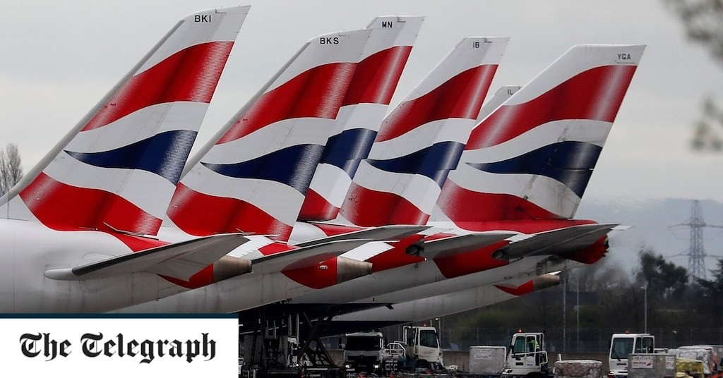 British Airways puts first class champagne flutes and china up for sale