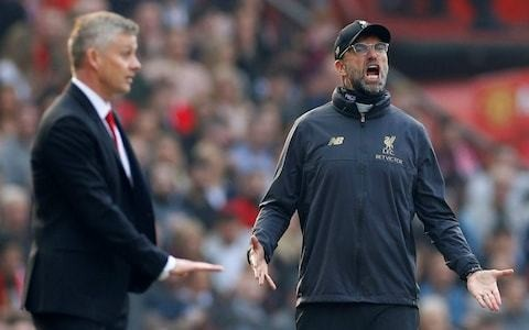 The biggest difference between Liverpool and Manchester United? Jurgen Klopp