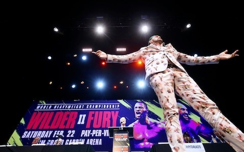 Tyson Fury: 'If I'm foolish enough to be hit by Deontay Wilder's right hand I deserve to lose; I'll stop him in two rounds'