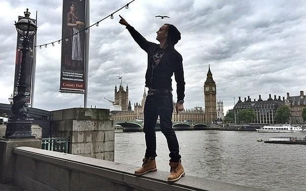 Tom Hanks's rapper son uses N-word in London Instagram photos