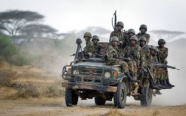 Bodies of Kenyan soldiers dragged through Somali streets after al-Shabaab attack on base