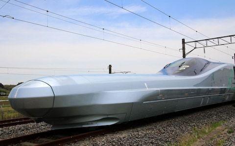 World's fastest shinkansen bullet train starts test