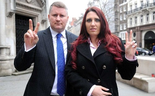 Twitter bans Britain First leaders after anti-Muslim videos shared by Donald Trump