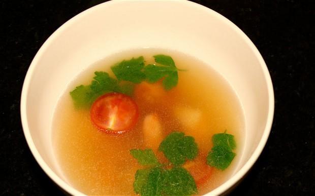 Fragrant tom yum soup recipe