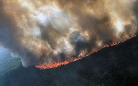Climate change warning as Arctic Circle burning at record rate