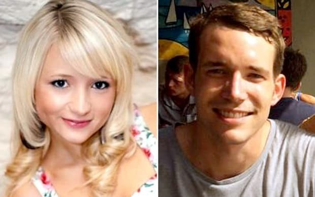 Families of murdered backpackers pay emotional tribute