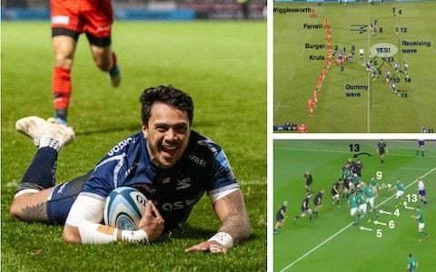 How the blindside slide, perfected by Sale Sharks, has become a popular strike-move of 2018-19 season