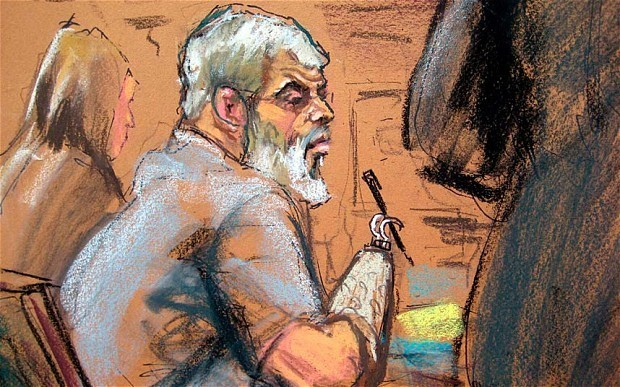 Abu Hamza trial: hate preacher says British wife persuaded him to turn to Islam