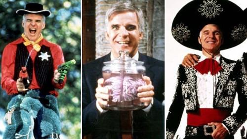 Steve Martin's 13 best films