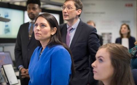 Politics latest news: Priti Patel defends new immigration points system as she insists it's 'not the end of the Polish builder'