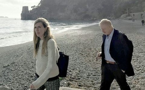 Carrie Symonds will not join Boris Johnson entering Downing Street if he becomes Prime Minister