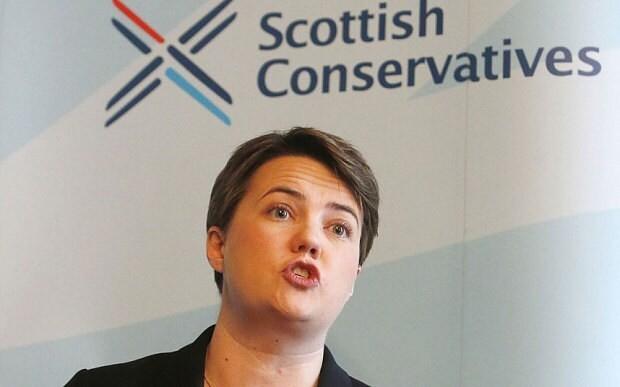 Ruth Davidson attacks flag tribute for Saudi king
