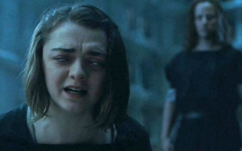 Maisie Williams was as blind as Arya for season 6 of Game of Thrones