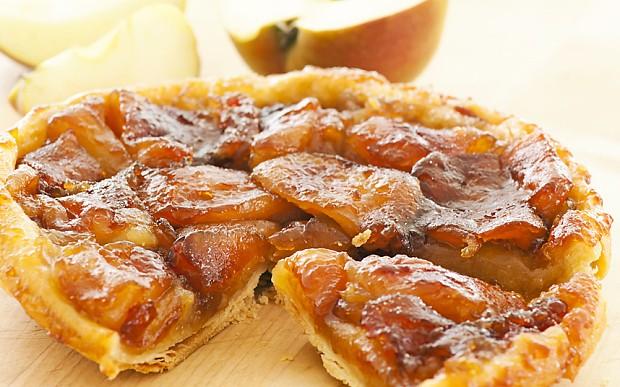 Apple tarte tatin with fleur de sel: French recipe