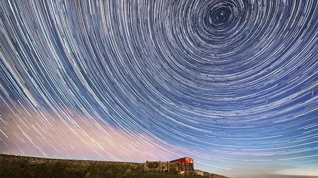 Huge Perseid meteor shower seen over UK