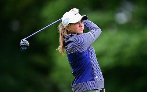 How Hannah McCook's golf career has been inspired by feats of fellow diabetic Sir Steve Redgrave