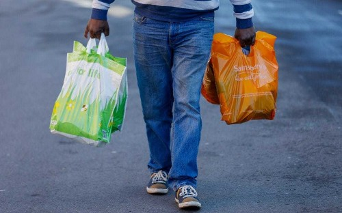 Asda and Sainsbury's face being left on the shelf