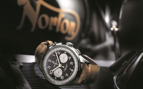 'We were looking for a cool brand with an interesting history': Norton revs up with Breitling
