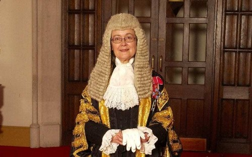 Half of the judiciary should be women, says Britain's most senior judge