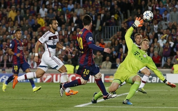 Lionel Messi's magical feet destroy theory of football as cold, hard science