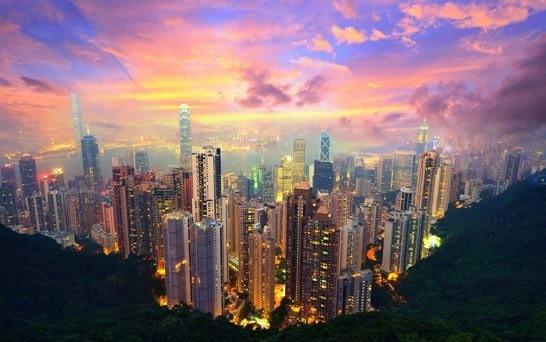 Financial typhoon warning for Hong Kong