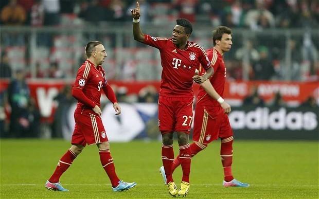 Bayern Munich v Juventus: live