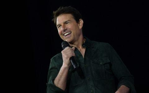 Tom Cruise surprises Comic Con with release of trailer for Top Gun sequel Maverick