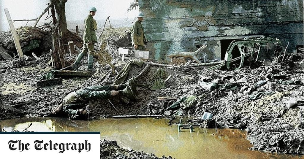 The unfortunate 'climate anomaly' of the First World War revealed