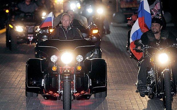 US slaps sanctions on Putin's biker gang over Ukraine