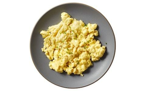Which came first? The battle to win over omelette lovers with the chickenless egg has just begun
