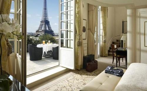 The best Paris hotels near the Eiffel Tower
