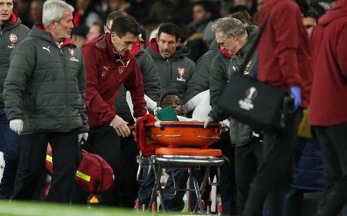Danny Welbeck has undergone second operation to repair injured right ankle, Arsenal confirm