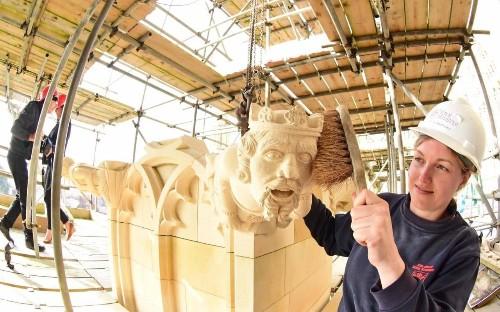Cathedrals hope apprenticeship schemes will save ancient skills
