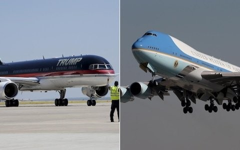 Donald Trump's plane vs Air Force One - which is more impressive?